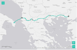 Trans Adriatic Pipeline project initiated in Greece